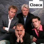 Cloaca vier met logo